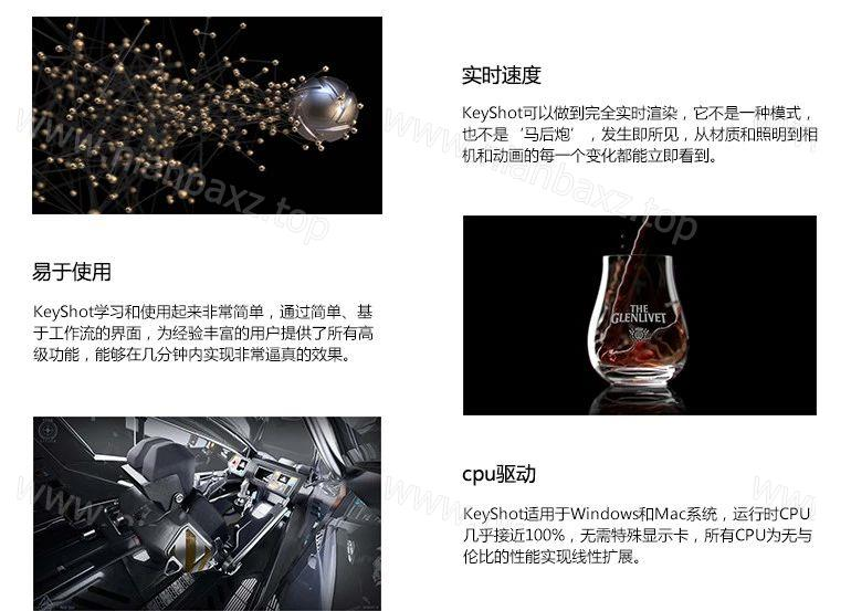 3D渲染 动画制作软件 KeyShot Pro 7.3