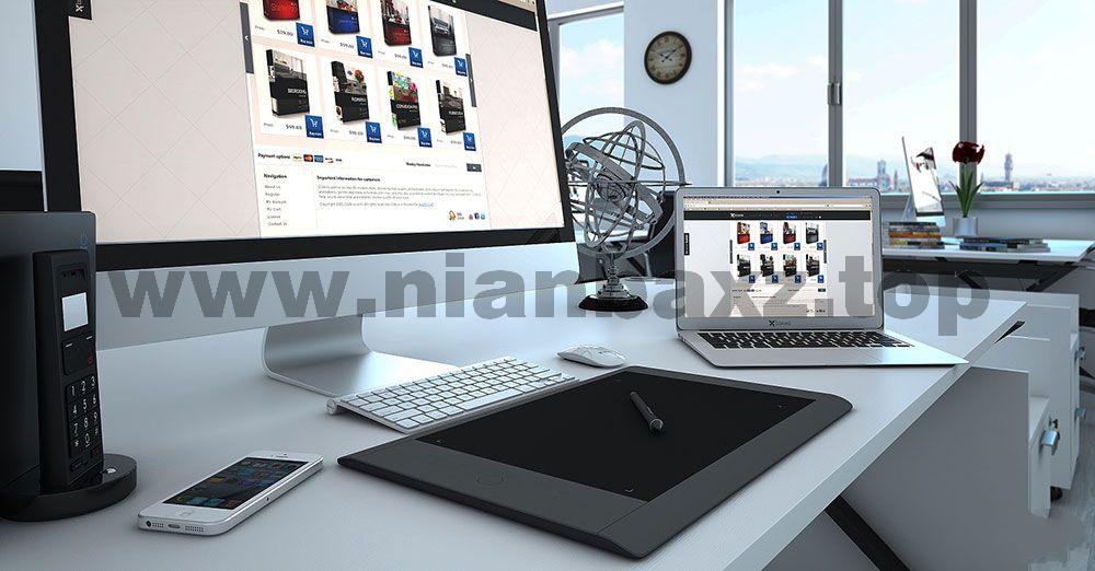 C4D模型:20个高精度遥控器闹钟音响手机电脑电子产品3D模型