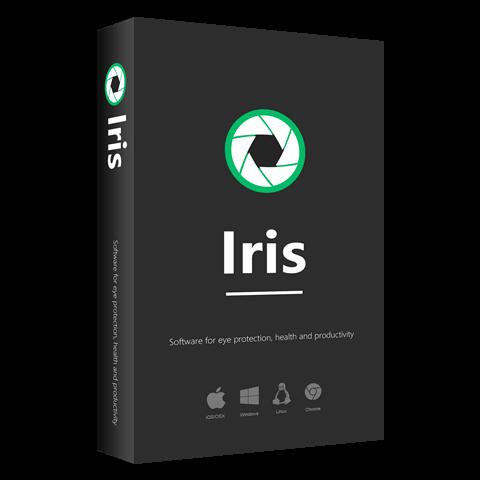 防蓝光护眼软件 Iris Pro v1.2.0 绿色便携版