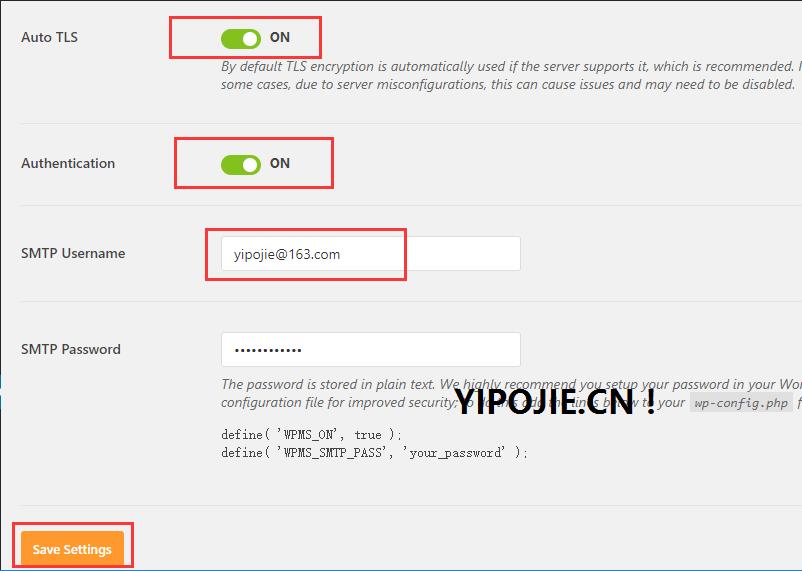 WordPress 配置 WP Mail SMTP发送邮件