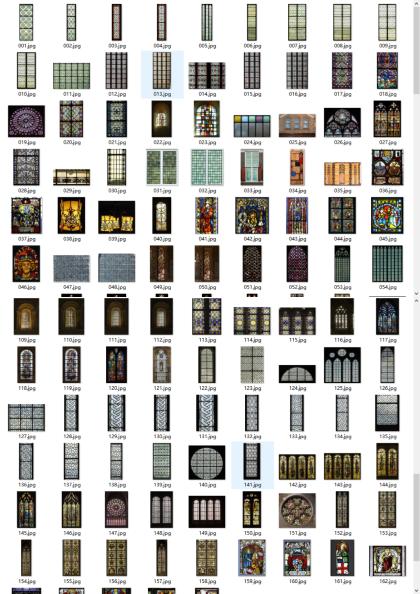 178张彩色玻璃贴图下载