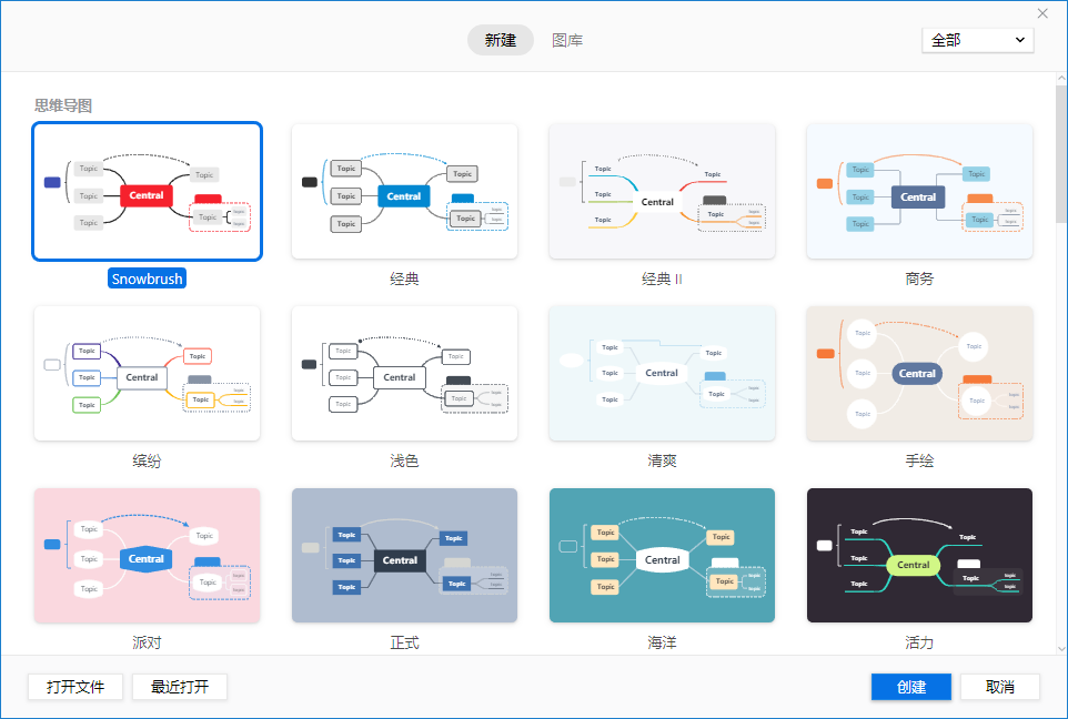 XMind ZEN 2020 v10.1.3-专业思维导图-中文免费版